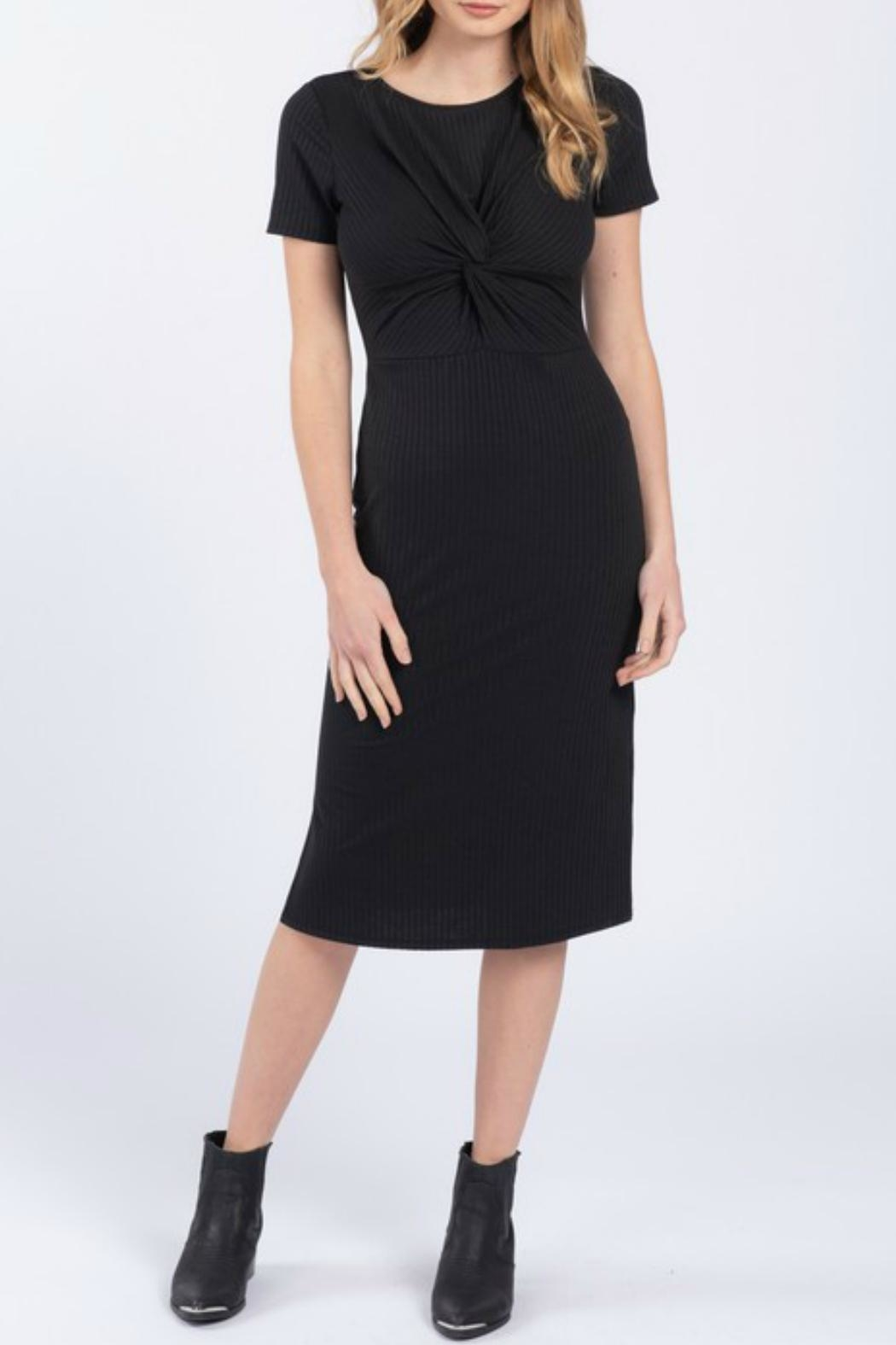 Everly Front Twist Dress - Main Image