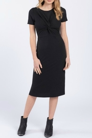 Everly Front Twist Dress - Front cropped