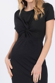 Everly Front Twist Dress - Back cropped
