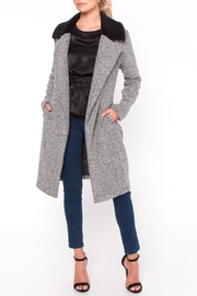 Everly Fur Collar Coat - Product Mini Image