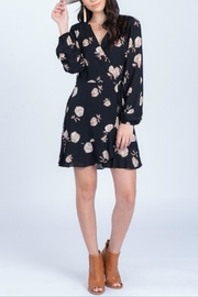 Everly Georgia Wrap Dress - Front cropped