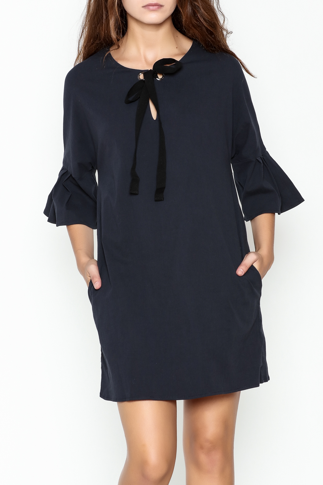 Everly Grommet Dress - Main Image