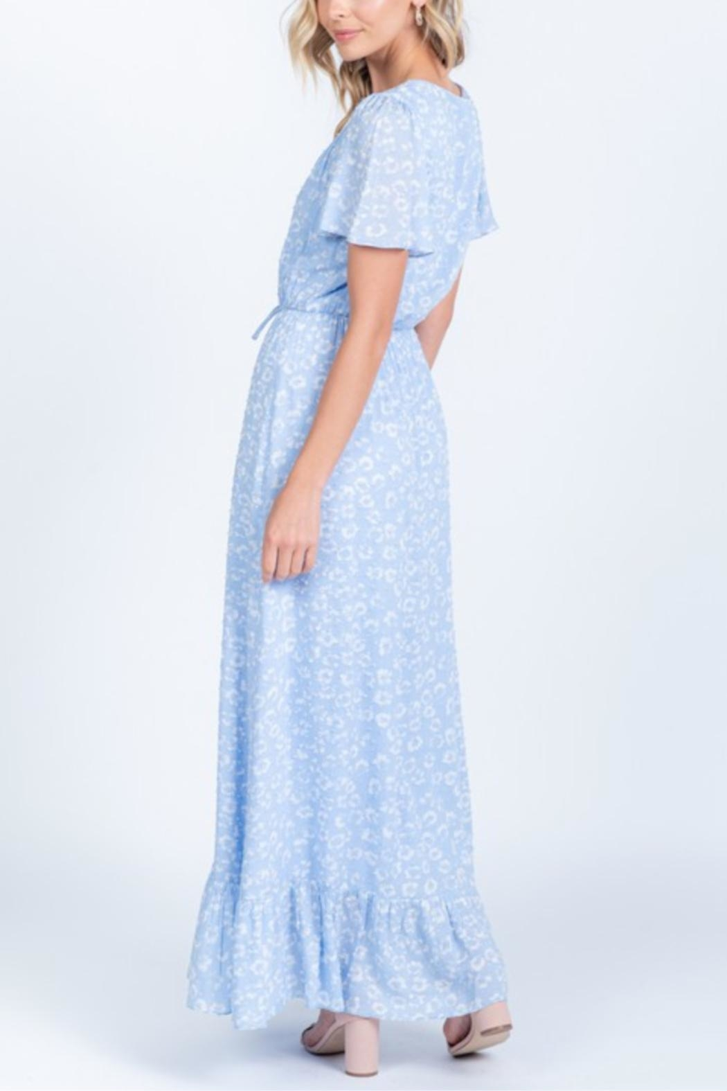 Everly Head In The Clouds-Dress - Back Cropped Image