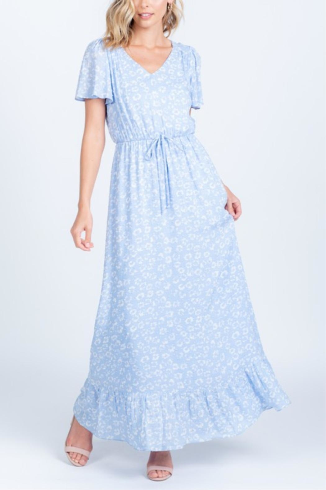 Everly Head In The Clouds-Dress - Front Full Image