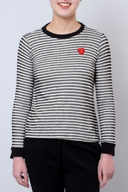 Everly Heart Patch Top - Product Mini Image