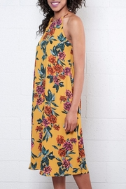 Everly Highneck Midi Dress - Side cropped