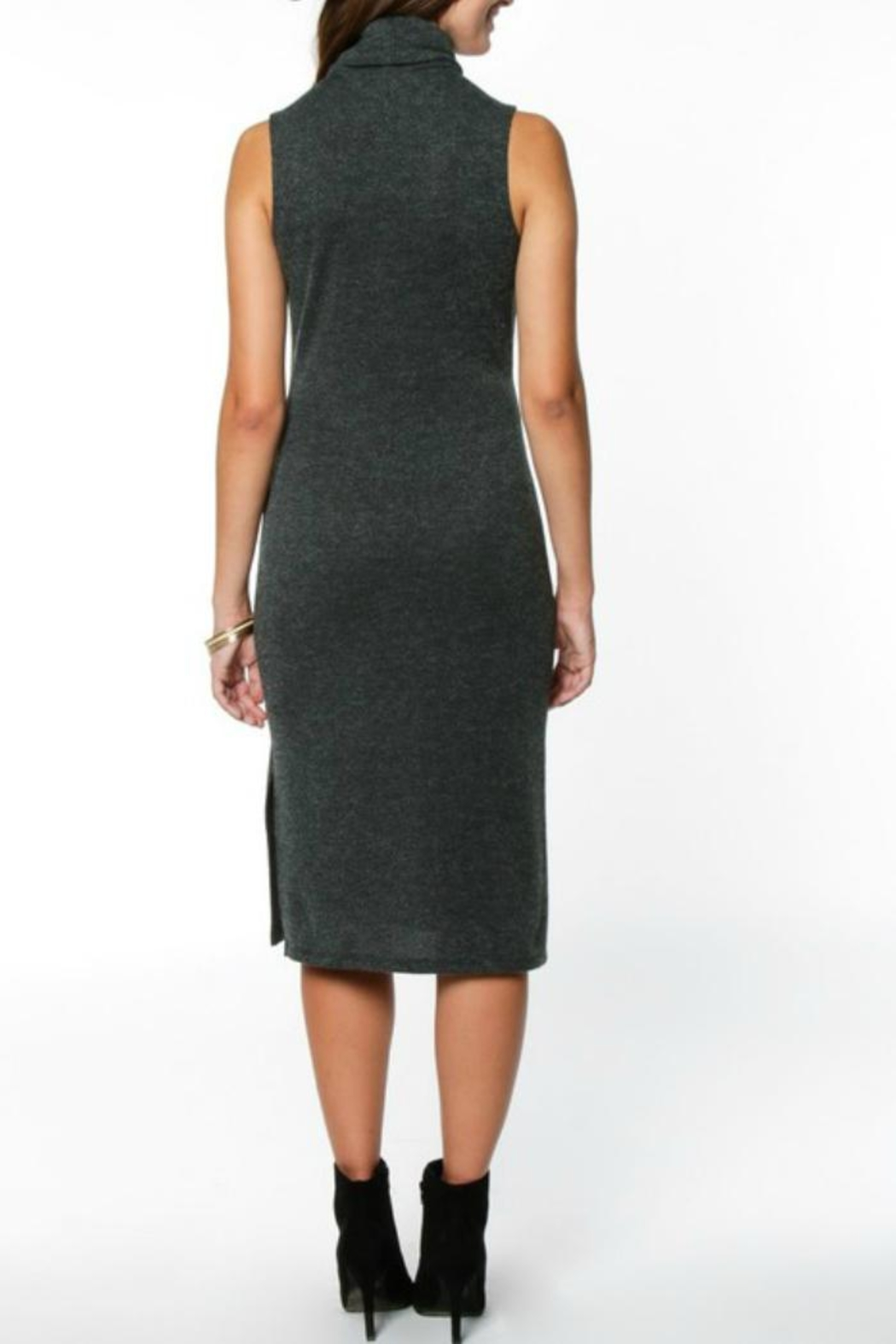 Everly Hunter Sweater Dress - Front Full Image