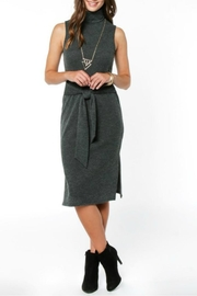 Everly Hunter Sweater Dress - Front cropped