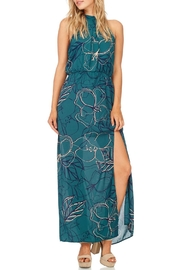 Everly Jade Maxi Halter Dress - Front cropped