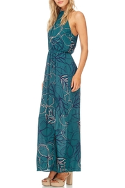 Everly Jade Maxi Halter Dress - Front full body