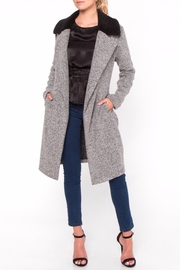 Everly Knee Length Coat - Product Mini Image