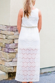 Everly Lace Maxi Dress - Front full body