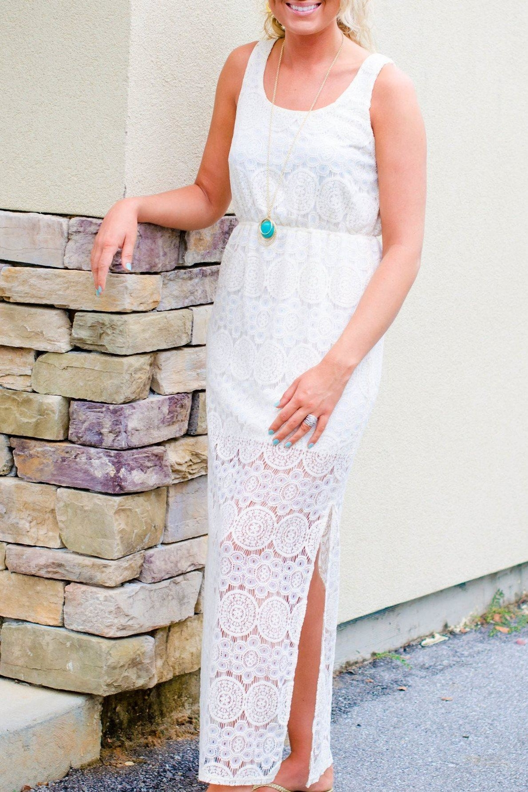 Everly Lace Maxi Dress - Main Image