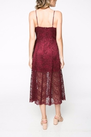 Everly Lace Midi Dress - Side cropped