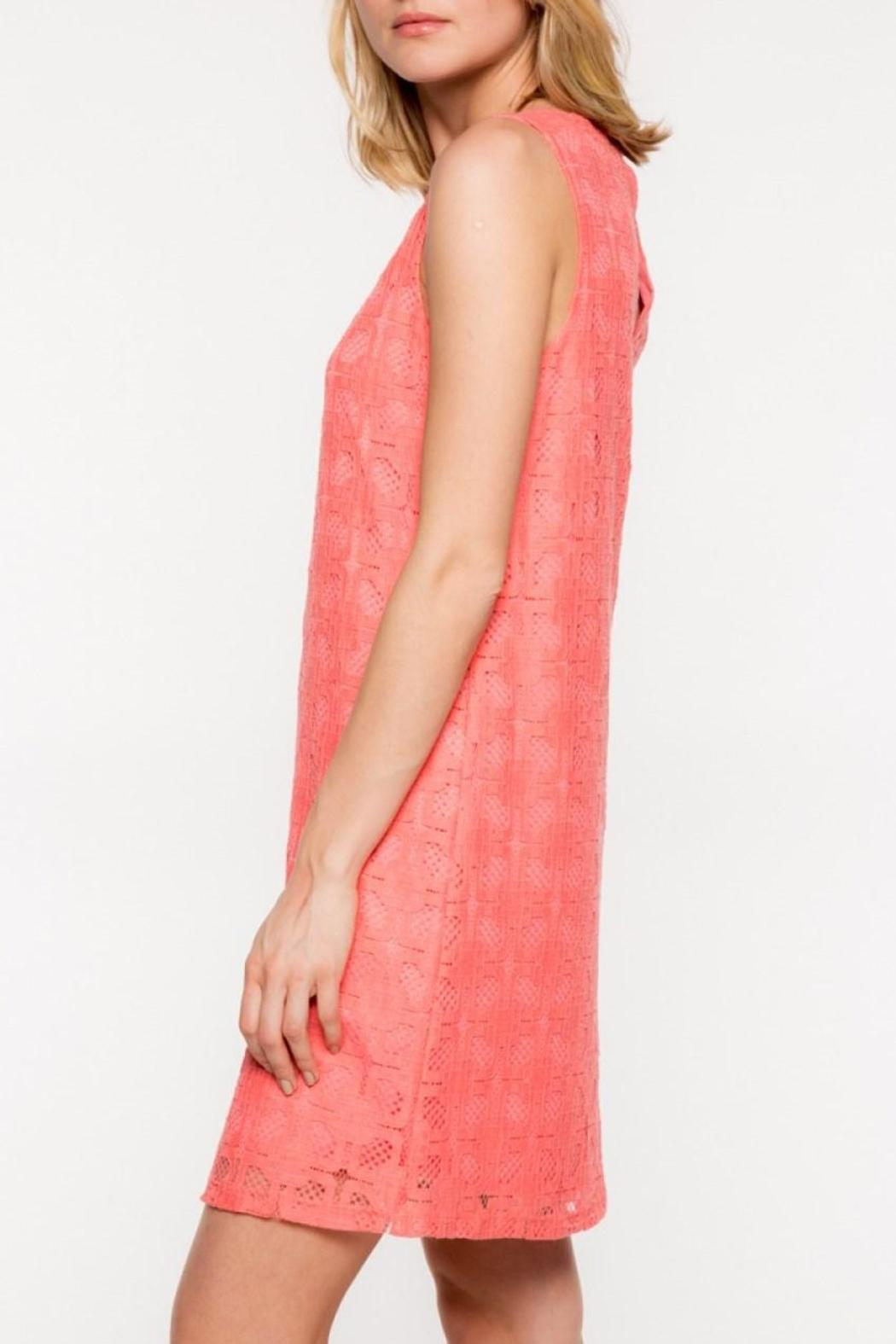 Everly Lace Shift Dress - Front Full Image