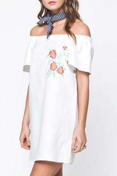 Shoptiques Product: Linen Embroidered Dress