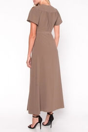 Everly Maxi Wrap Dress - Side cropped