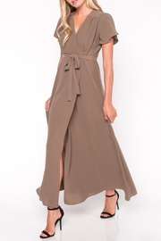 Everly Maxi Wrap Dress - Product Mini Image