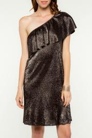 Everly Merry Metallic Dress - Front cropped