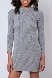 Everly Mock Neck Dress - Front cropped