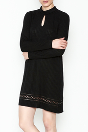 Everly Mock Neck Shift Dress - Product Mini Image