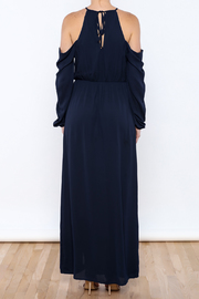 Everly Navy Girl Maxi - Back cropped
