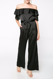Everly Off Shoulder Jumpsuit - Product Mini Image