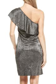 Everly One Shoulder Disco Dress - Side cropped