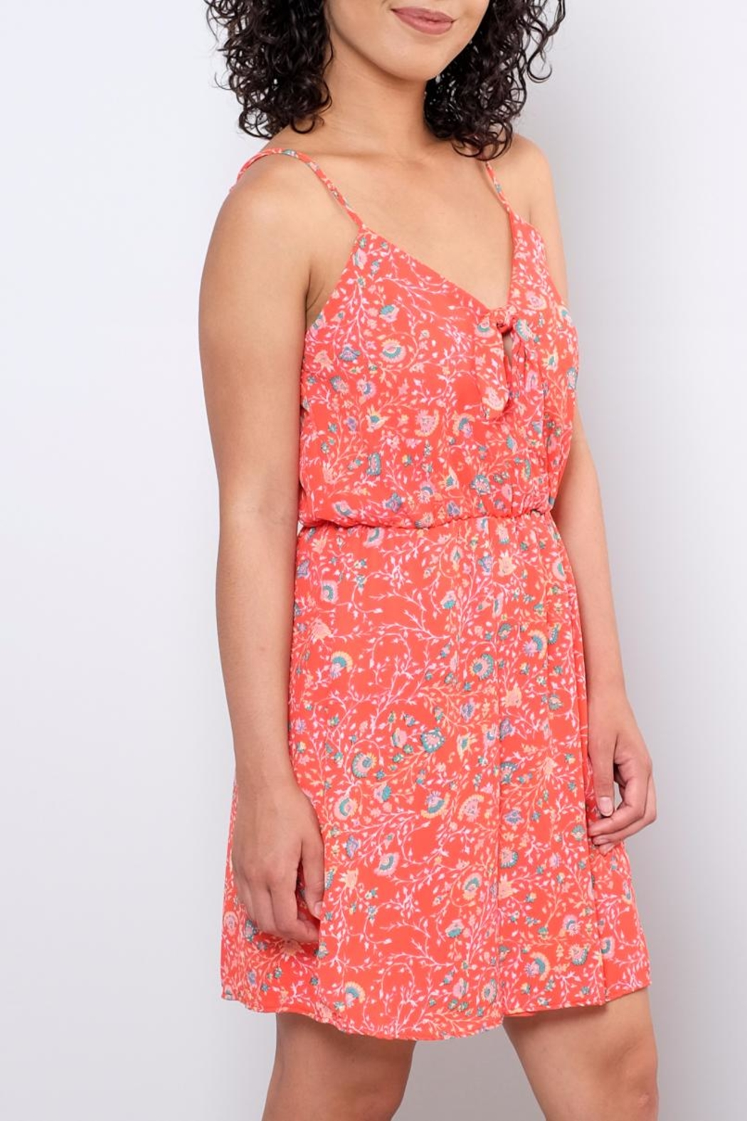 Everly Paisley Sun Dress - Front Full Image