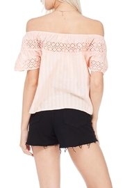 Everly Linen Blend Top - Side cropped