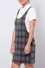 Everly Plaid Dress Set - Front full body