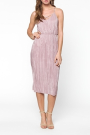 Everly Pleated Midi Dress - Product Mini Image
