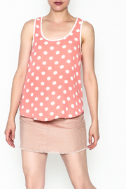 Everly Polka Dot Blouse - Product Mini Image