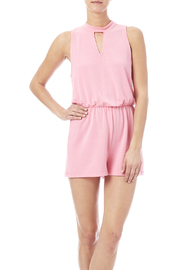Everly Pretty In Pink Romper - Product Mini Image