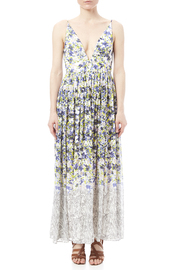 Everly Floral Print Maxi - Front cropped