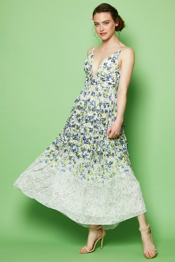 Everly Floral Print Maxi - Main Image