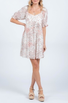 Everly Printed Babydoll Dress - Product List Image