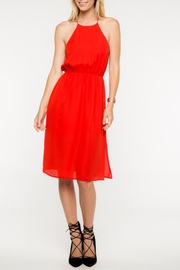 Everly Red Midi Dress - Product Mini Image