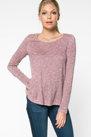 Everly Rib-Knit Top - Front cropped