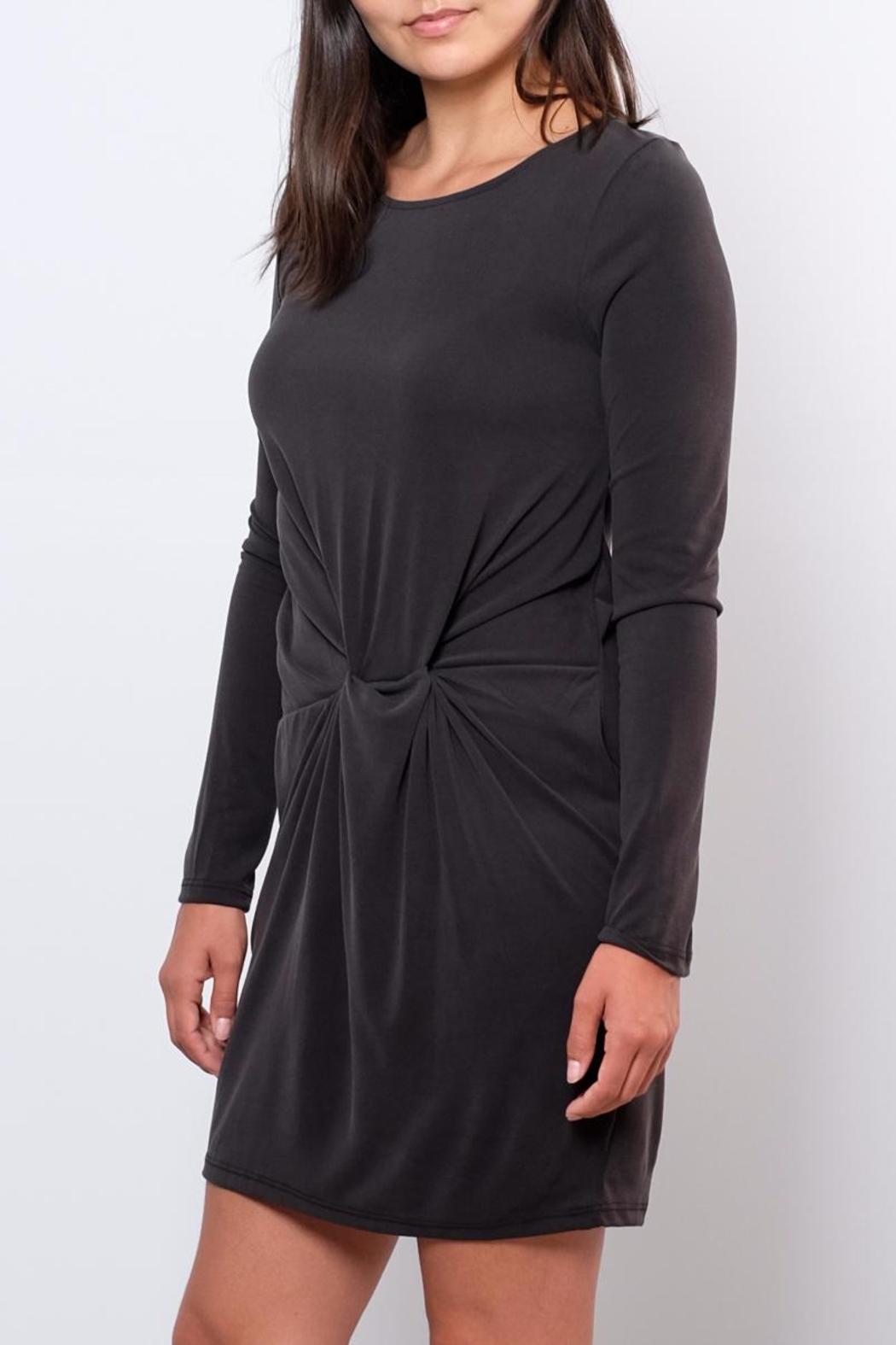 Everly Rouched Waist Dress - Side Cropped Image