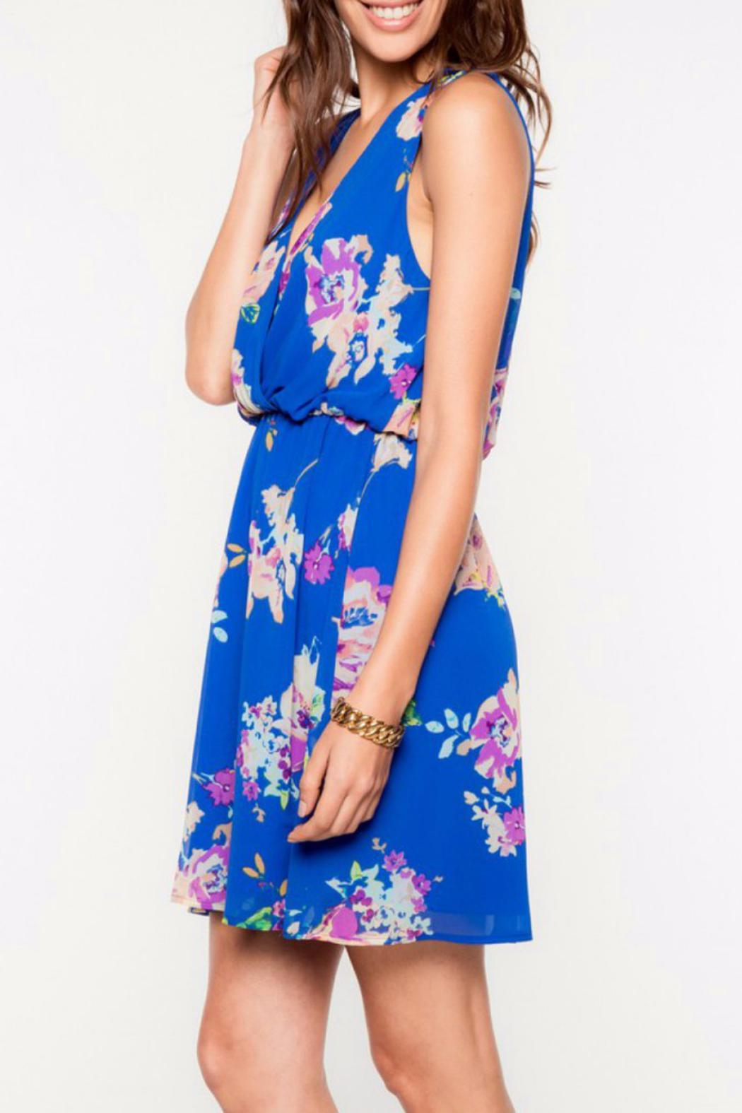 f35d2aeb87 Everly Royal Floral Dress from Austin by Longhorn Fashions — Shoptiques