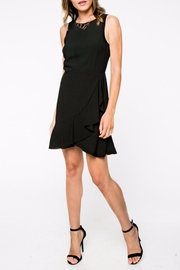 Everly Ruffle Bottom Dress - Product Mini Image