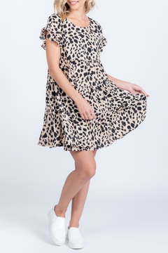 Everly Ruffle Printed Dress - Product List Image