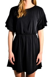 Everly Ruffle Sleeve Dress - Product Mini Image