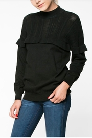 Everly Ruffle Sweater - Product Mini Image