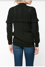 Everly Ruffle Sweater - Side cropped