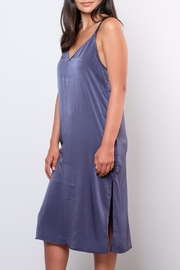 Everly Satin Shift Dress - Side cropped