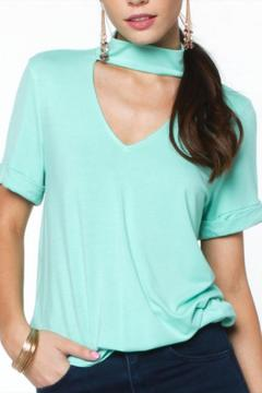 Shoptiques Product: Seafoam Collar Top
