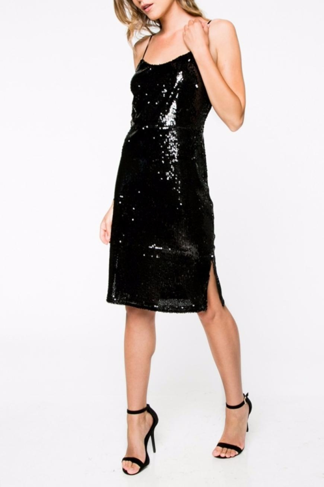 Everly Sequin Mini Dress - Main Image