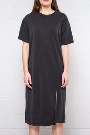 Everly Short Sleeve Slit Dress - Product Mini Image